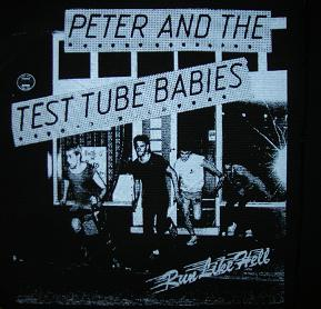PETER AND THE TEST TUBE BABIES - Run - Back Patch