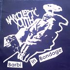 NARCOLEPTIC YOUTH - Barbie - Back Patch