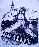 GG ALLIN - Back Patch