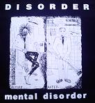 DISORDER - Mental Disorder - Back Patch