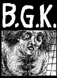 BGK - Straight Jacket - Back Patch