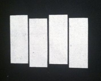 BLACK FLAG - Bars black ink on white - Patch