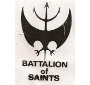 BATTALION OF SAINTS - Patch
