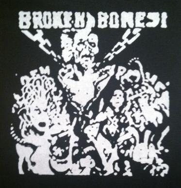 BROKEN BONES - Chains - Patch