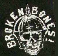 BROKEN BONES - Skull - Patch