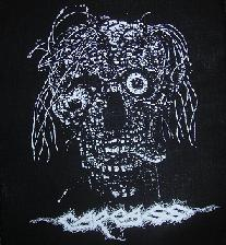 CARCASS - Head - Back Patch