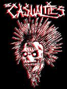 CASUALTIES - Skull - Back Patch