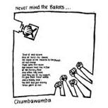 Chumbawamba - Never Mind The Ballots (White) - Shirt