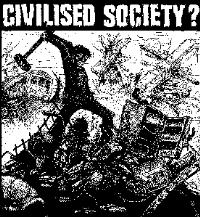 CIVILISED SOCIETY - Back Patch
