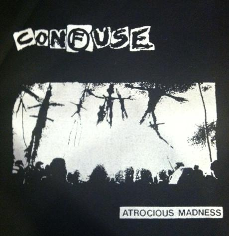 CONFUSE - Atrocious Madness - Back Patch