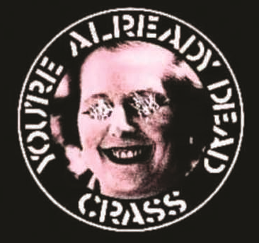 Crass - You're Already Dead - Button