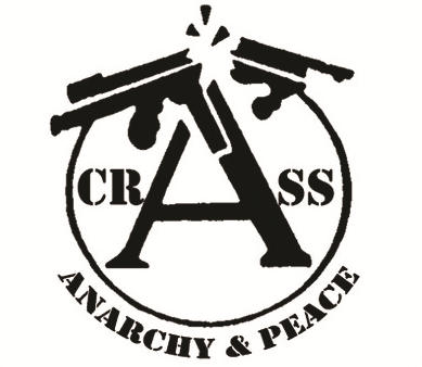 Crass - Anarchy & Peace - Button