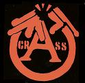 Crass - Broken Gun - Sticker