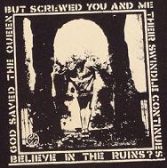 CRASS - Believe - Patch