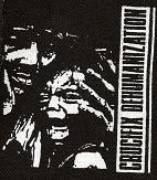 CRUCIFIX - Dehumanization - Back Patch