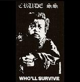 CRUDE SS - The System You Hate - Back Patch