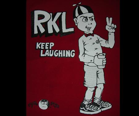 RKL - Keep Laughing - Back Patch
