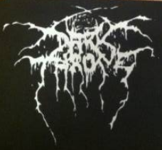 DARKTHRONE - Logo - Patch