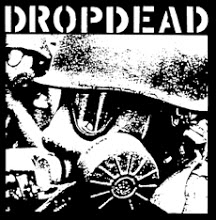 DROP DEAD - Gas Mask - Back Patch