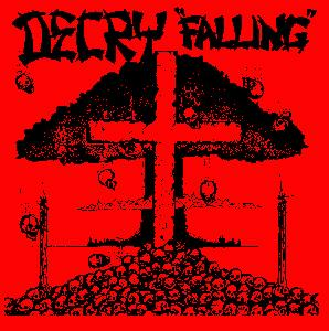 DECRY - Falling - Back Patch