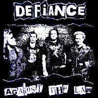 DEFIANCE - Against The Law - Back Patch
