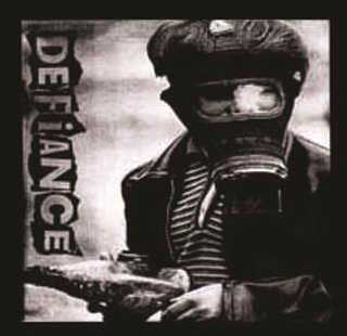 Defiance - Gas Mask - Button