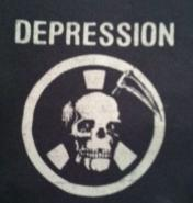 DEPRESSION - Skull - Patch