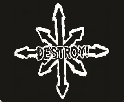 Destroy - Logo - Button