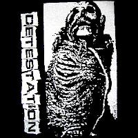 DETESTATION - Skeleton - Back Patch