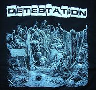 DETESTATION - LP Cover - Back Patch
