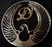 Discharge - Dove - Metal Badge