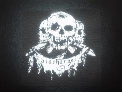 DISCHARGE - Skulls - Patch