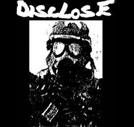 DISCLOSE - Gas Mask - Back Patch