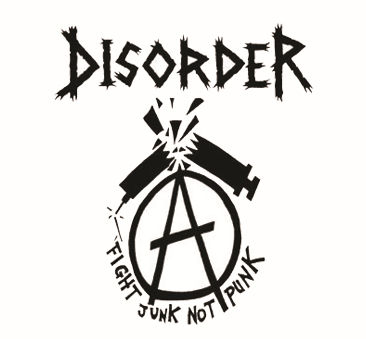 Disorder - Fight Junk - Button
