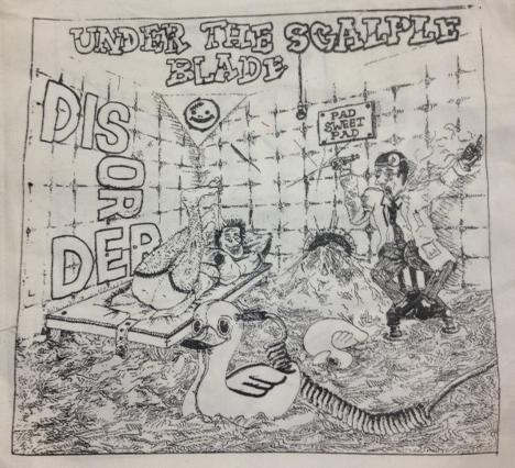 DISORDER - Under - Back Patch