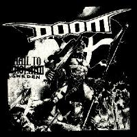 DOOM - Sweden - Back Patch