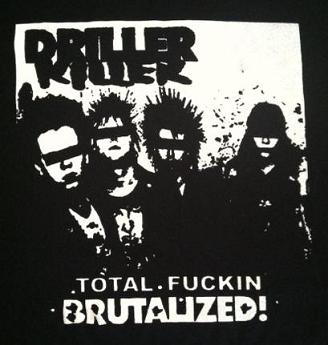 Driller Killer - Brutalized - Shirt