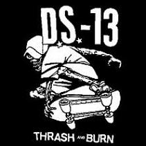 DS 13 - Thrash And Burn - Back Patch