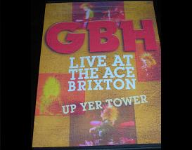 G.B.H. - Up Yer Tower + Brixton - (DVD)