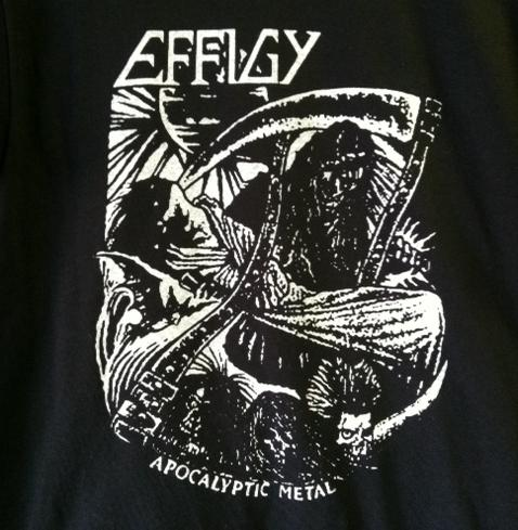 EFFIGY - Apocalyptic Metal - Back Patch