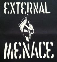 EXTERNAL MENACE - Back Patch