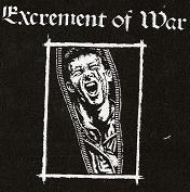 EXCREMENT OF WAR - Back Patch