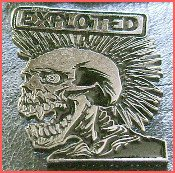 Exploited - Metal Badge