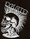 EXPLOITED - Skull - Patch