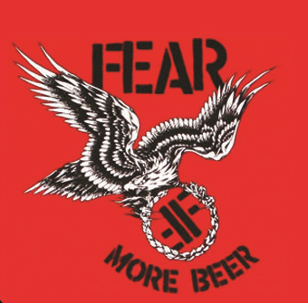 Fear - More Beer - Button