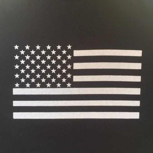 FLAG - Right Side Up - Back Patch