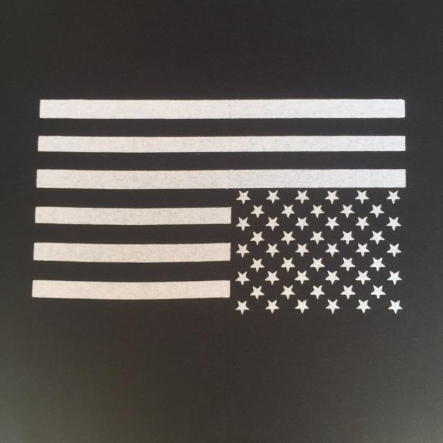 FLAG - Upside Down - Back Patch