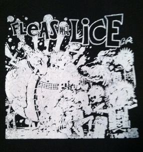 FLEAS AND LICE - Flea Punks - Back Patch
