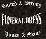 FUNERAL DRESS - Punks & Skins - Patch
