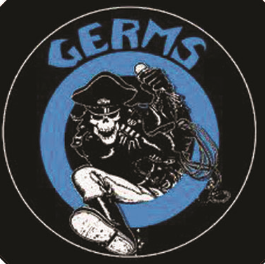 Germs - Skeleton - Button